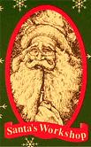 Santa's Workshop Santa Dolls Logo