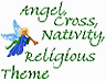 Angel, Nativity Theme Icon